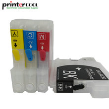 Empty Refill Ink Cartridge for Brother LC11 LC16 LC38 LC61 LC65 LC67 LC980 LC1100 DCP-J140W DCP-145C DCP-165C DCP-185C DCP-195C