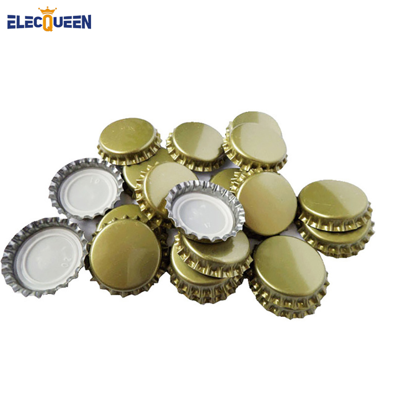 Hot Sale 100pcs/lot ,High Quality Beer Bottle Cap Beer Lid For DIY Homebrew Beer Tool