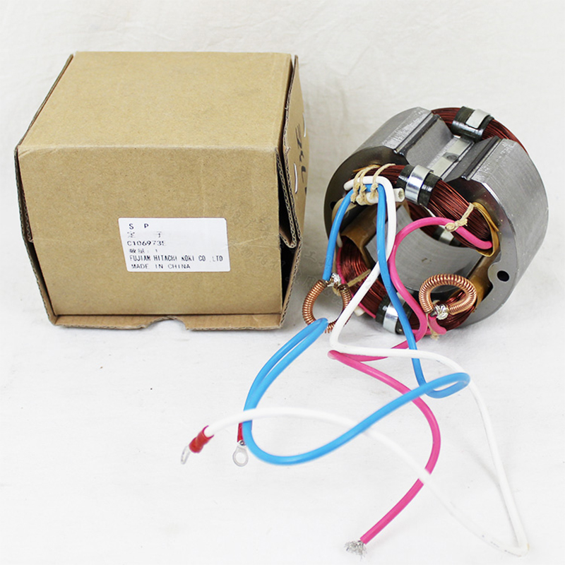 Japan HITACHI Hitachi C12FCH Aluminum cutting machine stator Aluminum machine original accessories C12LCH stator aod425a d425a to 252