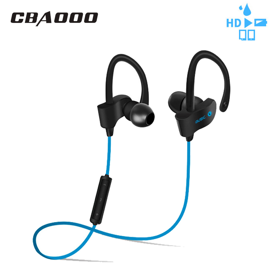 CBAOOO K11 Bluetooth Kopfhörer Kopfhörer Drahtlose Sport Headset Wasserdichte Bass Bluetooth Ohrhörer Ohrhörer Mit Mikrofon für telefon