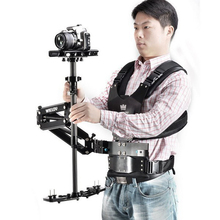 Weildy HD-2600 1-6kg weight bear Video camcorder Steadicam stabilizer Steadycam photography Vest Dual Support Arm