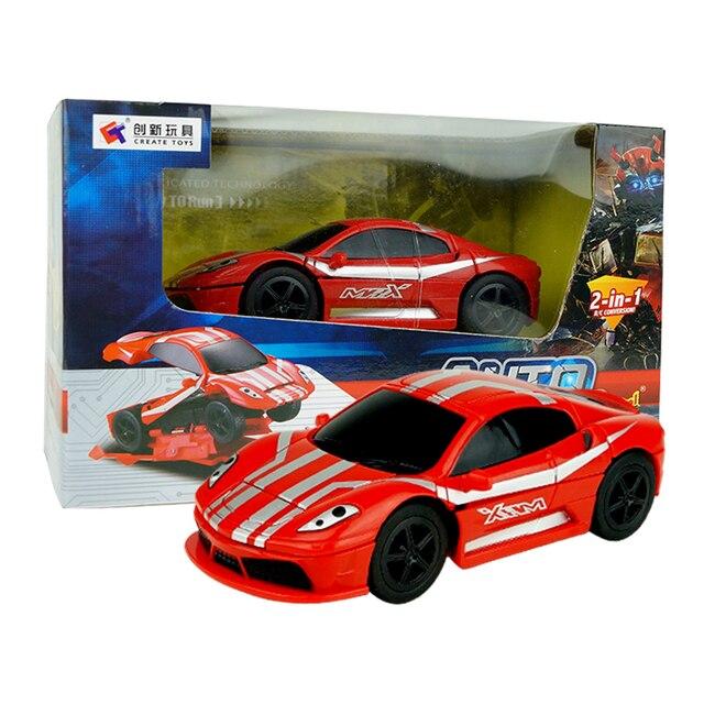 RC Деформации Взрыв Ударил Модели Автомобиля 1:43 4CH Высокоскоростной Электрический Пульт Дистанционного Управления RC Автомобиль Mini Cars Toy