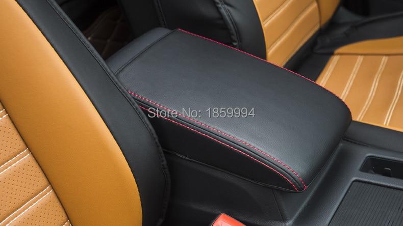 për 2016 2017 2018 VW Passat B8 dhe b8 Variant Armrest Console Pad Cover Mbulesa mbështetëse jastëk Armrest Top Mat Liner