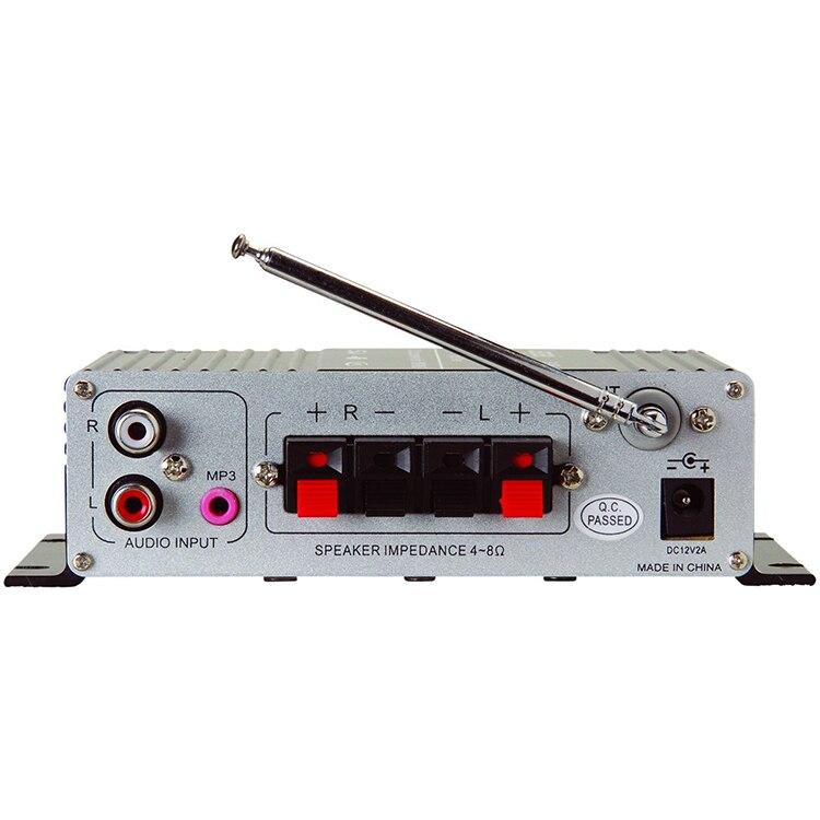 Lepai LP-A68 2x15W Mini Amplifier with Remote USB MP3 Media