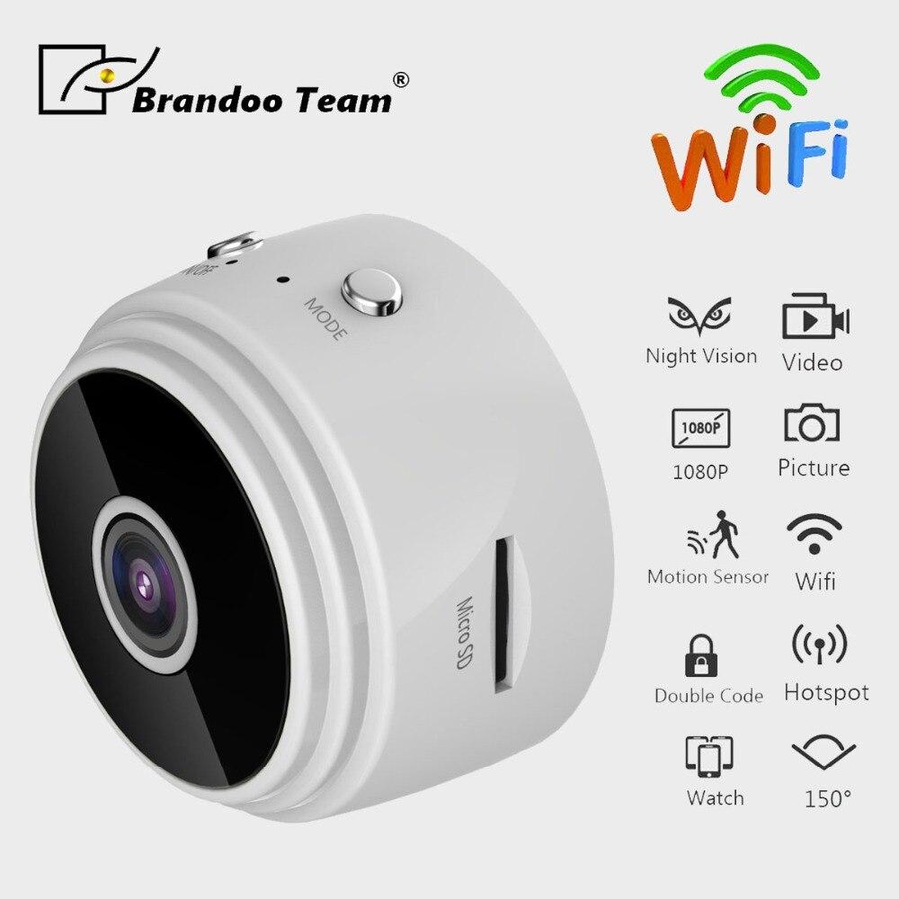 Mini Wifi Camera IP Cam Wearable 1080P HD H.264 Body Camera Wireless Motion Detection Mini DV Camera Magnetic Bike Camera цена в Москве и Питере