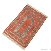 Bohemian Islamic Muslim Prayer Rug Carpet Mat Polyester Namaz Salat Tassel Tablecloth Cover Yoga Blanket Decoration 70x110cm