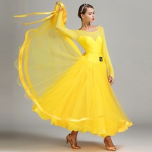 הגעה חדשה מודרני ריקוד שמלת נקבה תלבושות ביצועים בגדים לאומי סטנדרטי ריקוד ביצועים אחידים חליפת B 6138