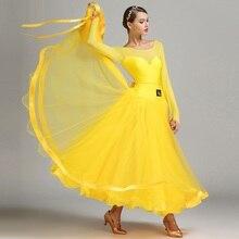 Neue Ankunft Moderne Tanz Kleid Weibliche Kostüm Leistung Kleidung Nationalen Standard Tanz Uniform Leistung Anzug B 6138