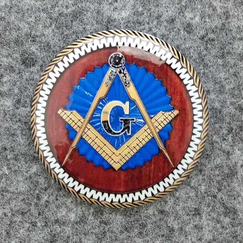 Germany Masonic Badge Metal Freemason Pin Medal Brotherhood Never