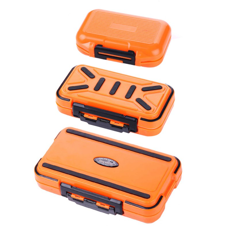 Fishing Tackle Box Waterproof Auto Open Multi Separate Compartments Organization Flip Case Box For Fishhooks(China)