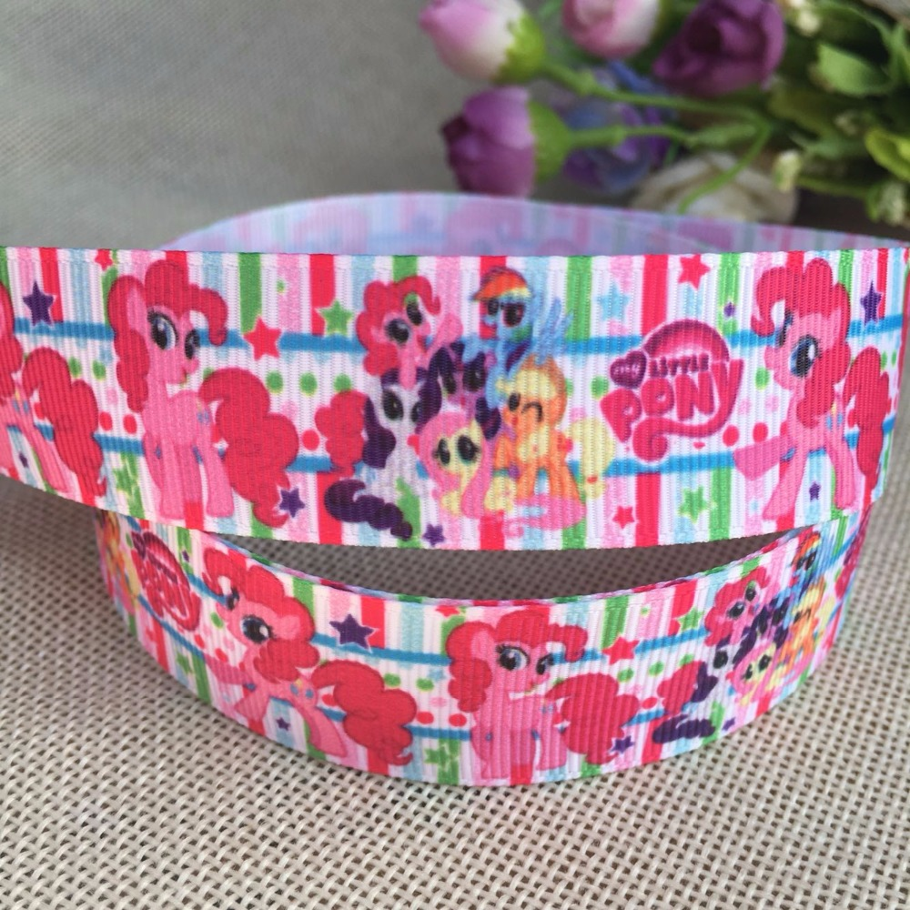 "UNICORN 1/"" GROSGRAIN RIBBON 25MM"