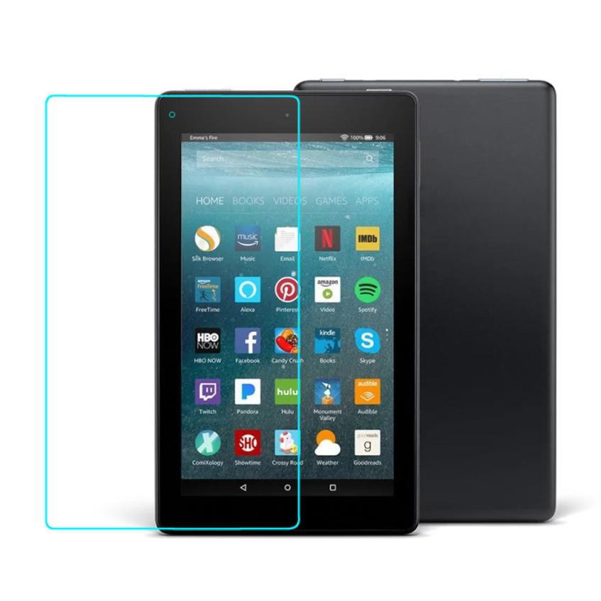 HD 8 2017 Tempered Glass Screen Protector Film US For Amazon Kindle Fire HD 7