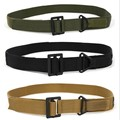 2015 fashion casual canvas belt high quality waistband Metal Buckle military outdoor sports belts for men army green black khaki