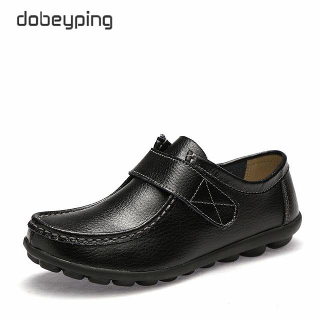 14ccd7ef Nowe oryginalne skórzane kobiety jesień buty na co dzień panie mokasyny  moda mokasyny kobiet mieszkania stałe