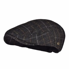 VOBOOM Warm Newsboy Caps Men Woolen Tweed Beret Gatsby Twill Driving Flat Cabbie Hat Casual Beret Boina 184 189