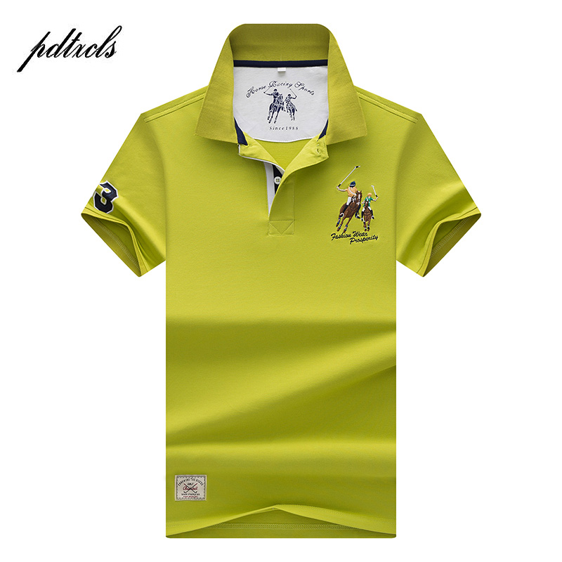 2018 HOT High Quality Tops&Tees Men's   Polo   shirts Business men brands   Polo   Shirts 3D embroidery Turn-down collar mens   polo   shirt