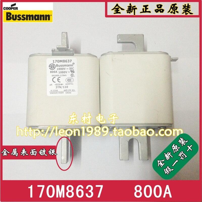 US BUSSMANN fuse 170M8637 800A 1000V 170M8638 Fuse us bussmann fuse tcf45 tcf40 tcf35 35a tcf30 600v fuse