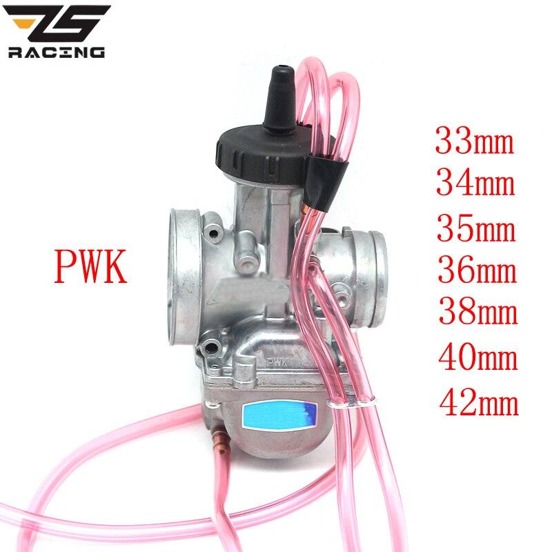 ZS Racing KEIH PWK 33 34 35 36 38 40 42mm PWK38 AIR STRIKER carburateur Quad Vent Carb pour Dirt KTM 250 250SX 250EXC TRX250R