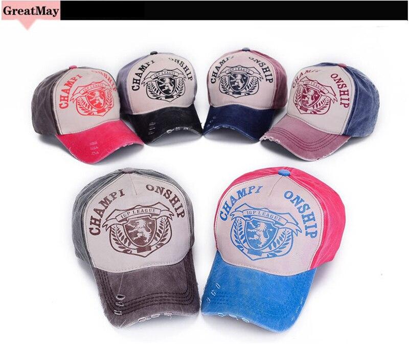 4391cf78ead Aliexpress.com   Buy Fashion Cotton Baseball Cap Women Men Fall Winter  Snapback Baseball Caps Motorcycle Grinding do Retro Hats Distressed Wearing  from ...