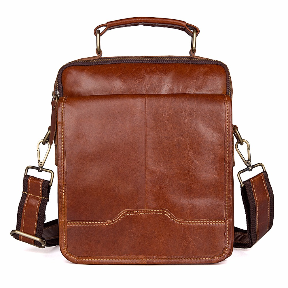 где купить J.M.D Small Messenger Bag Classic Flap Shoulder Bag Fashional Cross Body Bag For Young Top Quality Leather Bag Brown 1018B по лучшей цене