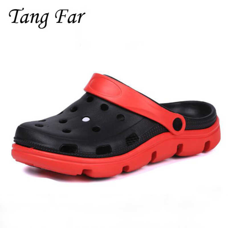 7f5e088e0f945f Detail Feedback Questions about Summer Light Garden Hole Shoes Beach  Sandals Men Non Slip Bathroom Slippers Men s Casual Shoes Breathable Sandal  EVA Slipper ...