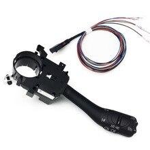 Interruttore del sistema di commutazione del gambo del controllo della velocità di velocità per VW Golf 4 Jetta MK4 IV Bora 18G 953 513 A + 1J1 970 011 F