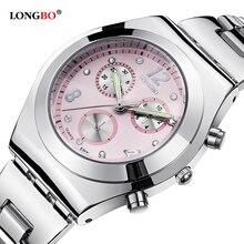 LONGBO Luxury Waterproof Women Watch Ladies Quartz Watch Women Wristwatch Relogio Feminino Montre Femme Reloj Mujer 8399