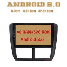 Octa core PX5 Android 8.0 car radio gps for Subaru forester Impreza 2008-2012 with 4G RAM 32G ROM wifi 4g usb Auto Stereo