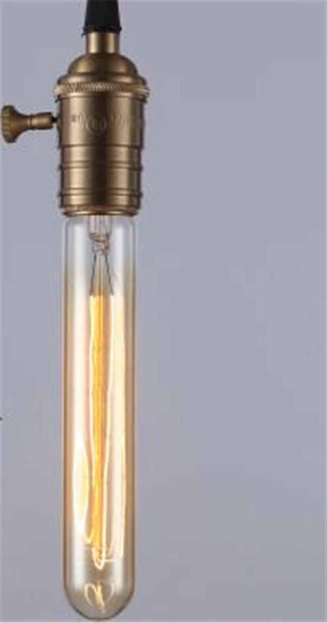 Ретро лампа E27 винтажные нить накаливания Light 220 В лампа накаливания G95 ST64 ST30 лампы для домашнего декора Bombillas наружного освещения - Цвет: Бургундия