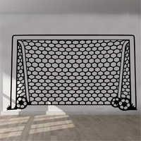 Adhesivo Adesivo De Parede calcomanías para pared con red De portería De fútbol decoración De vinilo mural para habitación De niños y niñas D205