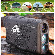 1000M Waterproof Golf Laser Range Finder Hunting Golf Telescope Monocular Rangefinders Distance Meter Speed Flag Lock Mode