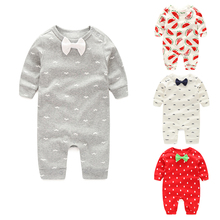 Wholesale Baby Clothing 2019 New Newborn jumpsuits Baby Boy Girl Romper Clothes Long Sleeve Infant Product baby girl romper newborn sleepsuit cartoon baby rompers 2019 infant baby clothes long sleeve newborn jumpsuits baby boy pajamas