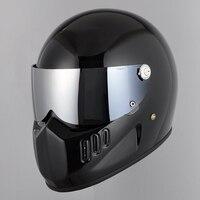 TT&CO full face motorcycle helmet face shield Thompson TT02 /TT04/TTRT/MJET harley moto helmets sun visor External silver glass