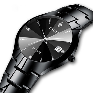 Image 2 - Relogio Masculino CIVO Mens Watches Top Brand Luxury Waterproof Analogue Date Wristwatch Women Mens Quartz Watch For Men Clock