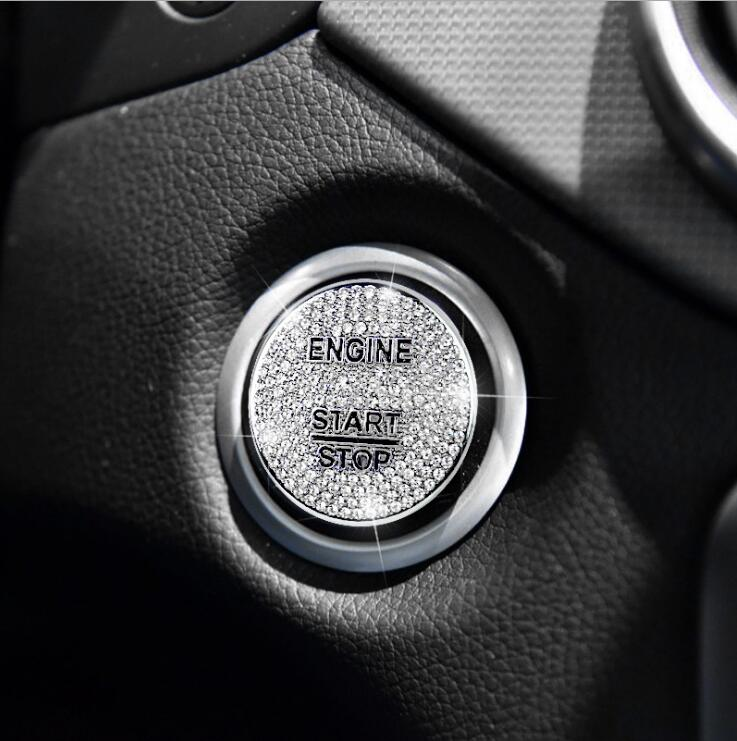 car interior accessories engine start stop sticker for. Black Bedroom Furniture Sets. Home Design Ideas