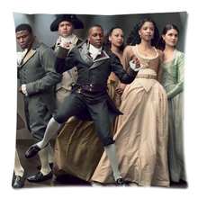 Hamilton Broadway Musical Pattern Square 18X18inch Sofa Decorative Throw Pillow Case Home Cotton Line Cushion cojines Covers