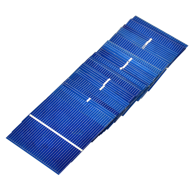 Aiyima 50pcs Mnin 52*52MM solar panel for DIY Polycrystalline solar cell DIY cell phone charging