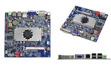 DC12V input mini PC motherboard E450 dual-core APU Computer Motherboard for thin client