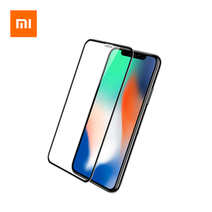 Image 1 - Mijia Youpin 3D Full Screen Protector Scratchproof Tempered Glass Screen Cover Film For  iPhone XS MAX/XS/X/XR/8P/8/7P/7