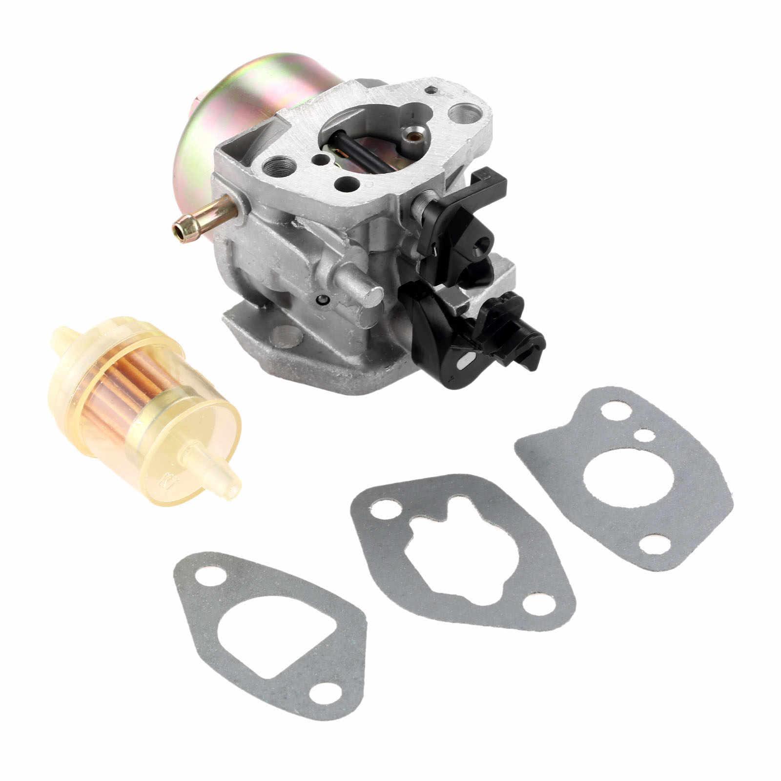 small resolution of  dreld carburetor with carburetor gasket fuel filter for mtd cub cadet troy bilt lawn mower
