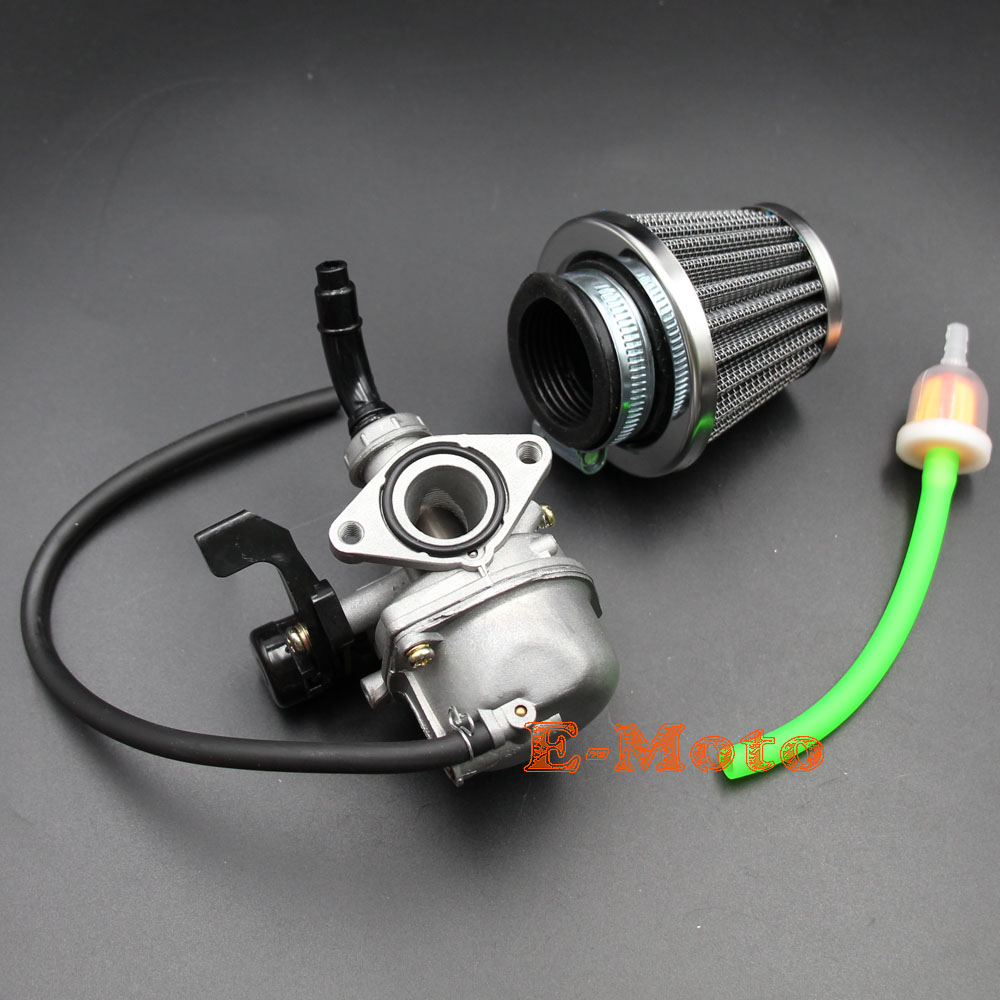 medium resolution of brand new 19mm carburetor assembly with air fuel filter fule tube for 50cc 70cc 90cc 110cc 4 stroke chinese atv dirt pit bike go kart
