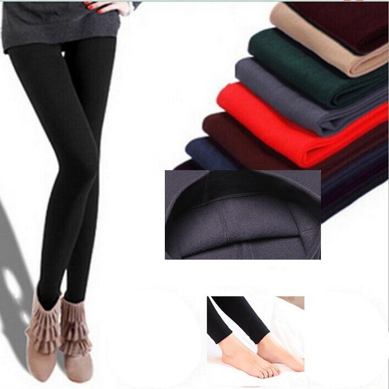 2017 spring autumn and winter Plus velvet warm fashion Slim women   leggings   Women's Pants Fitness Pants for girls   leggings
