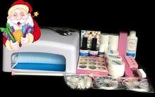 BTT-76 Professional Full Set 12 color UV Gel Kit Brush Nail Art Set + 36W Curing UV Lamp kit Dryer Curining Tools