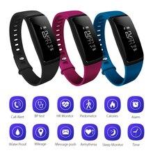Приборы для измерения артериального давления Смарт наручные часы спортивные часы браслет сердечного ритма SmartWatch Водонепроницаемый калорий Шаг трекер AC727-808-809