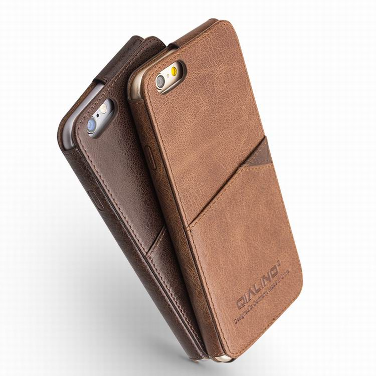 High End Real Genuine Leather Case For Iphone 6 4 7 Plus 5 5 Inch
