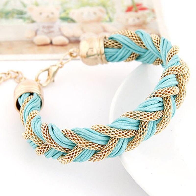 Hollow Out Line Beauty Jewelry Handmade Bracelets For Women Metal