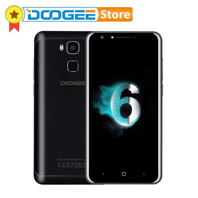 Оригинал DOOGEE Y6 5.5 Дюймов Android 6.0 Смартфон 4G LTE MTK6750 Octa Core 2ГбRAM 16Гб ROM Две SIM карты 13.0MP OTA 720P