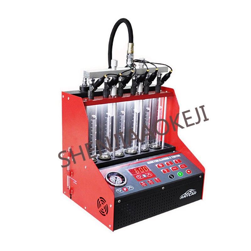 Machine de nettoyage d'injecteurs de carburant pour véhicules à moteur instrument d'essai de buse de pulvérisation à ultrasons dispositif de réparation 110 V/220 V