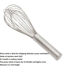 1Pcs Foodservice 11-Inch Stainless