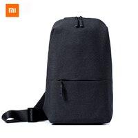 Free Shipping Original Xiaomi Simple Chest Pockets Male Sports Bag Bag Casual Mini Bag New Fashion